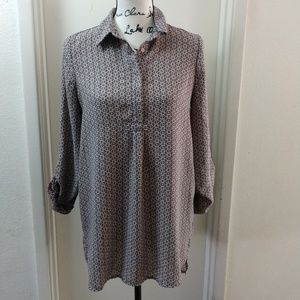 Pleione Blouse Small Long Sleeve